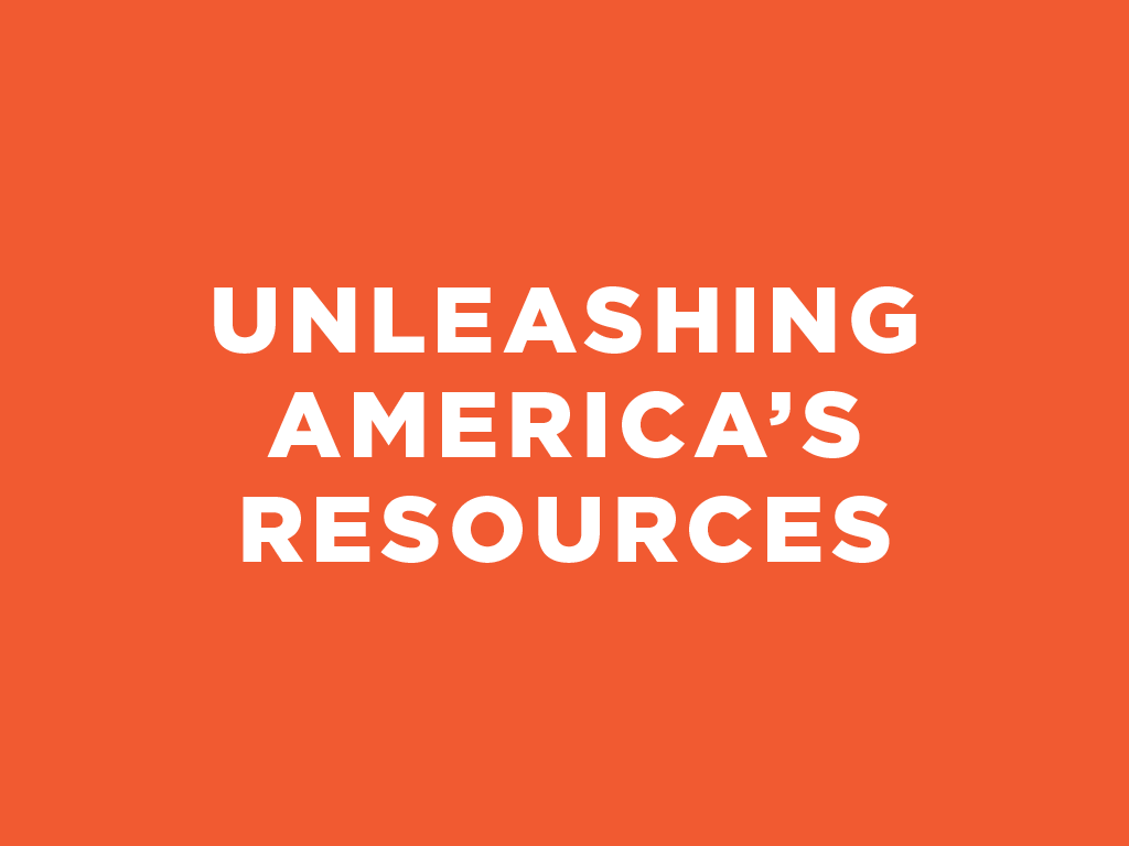Unleashing America's Resources